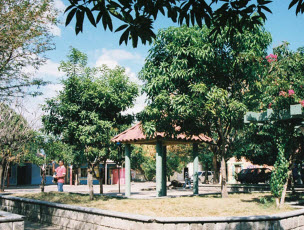 The plaza in Dibulla La Guajira Februrary 2008